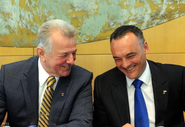 Schmitt Pál és Borkai Zsolt