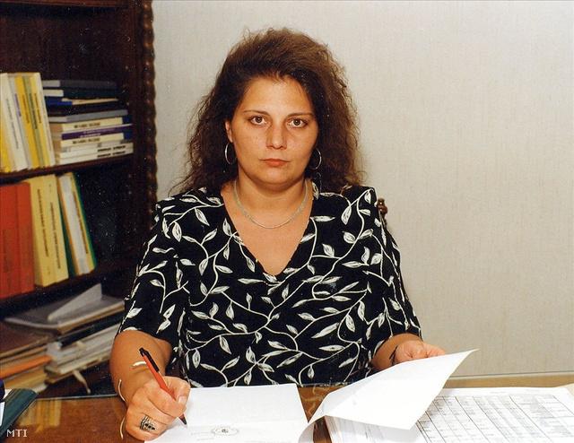 Vida Ildikó, az APEH megbízott elnöke 1999-ben