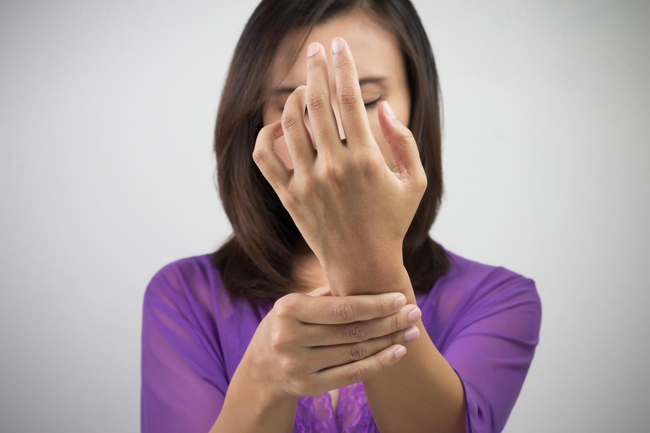 zsibbadó kéz