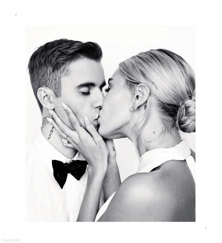 Justin Bieber és modell felesége már kerek 4 napja hivatalosan is házasok