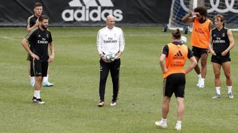 5 perc késés 80 ezer, ellógott edzés 1 millió a Realnál
