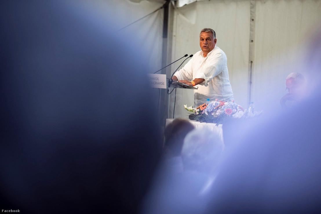 Orbán Viktor Kötcsén