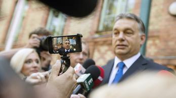 Orbán most nem dobta be magát