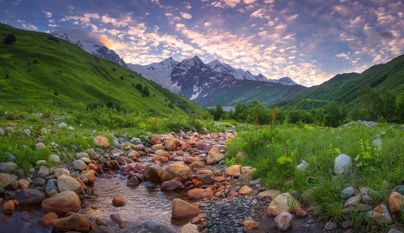Grúzia hegyek nyitókép