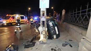 Halálos baleset történt a Gellért rakparton