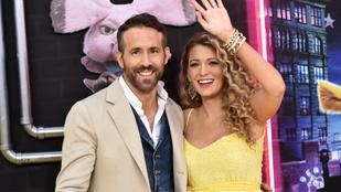 Megszületett Blake Lively és Ryan Reynolds harmadik babája