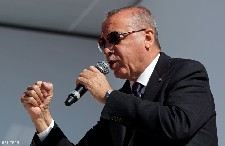 Recep Tayyip Erdoğan török elnök