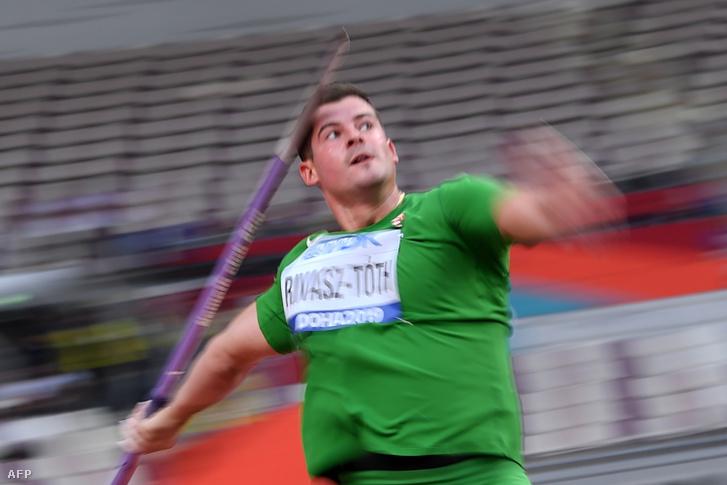 Rivasz-Tóth Norbert új országos csúcsot ért el gerelyhajításban a dohai atlétikai világbajnokságon