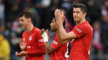Lewandowski sosem látott formában, mégis kikapott a Bayern