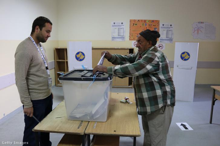 Pristinai szavazóhelyiség, a 2017-es helyhatósági választásokon