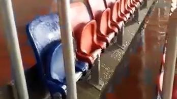 Beázik, saját belső vízesése van a Fehérvár 14 milliárdos stadionjának