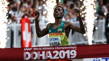 Etiópia visszahódította a vb-címet maratonban