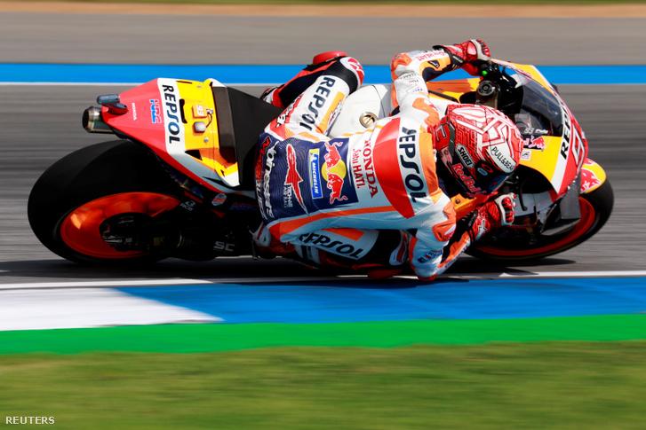 Marc Marquez a Thaiföldi GP-n