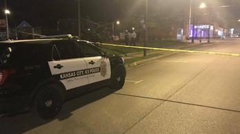 Lövöldözés volt egy kansasi bárban, négy ember meghalt, öten megsérültek