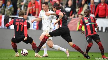 0-0 lett a Honvéd-Fradi