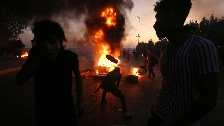 Száznál is többen haltak meg az iraki tüntetéseken