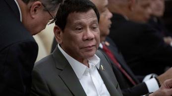 Tánc közben árulta el egy nőnek a Fülöp-szigeteki elnök, hogy súlyos beteg