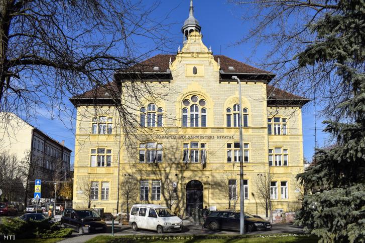 A Budapest Kőbányai önkormányzat Polgármesteri Hivatalának épülete