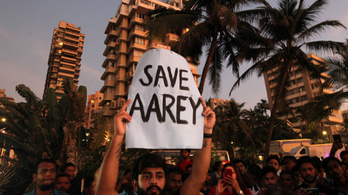 Mumbai fáit először tüntetésekkel védték, aztán a bíróság mentette meg