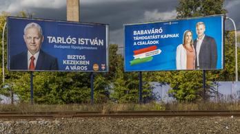 Véletlenül pont ugyanúgy néznek ki a kormány plakátjai, mint Tarlóséi