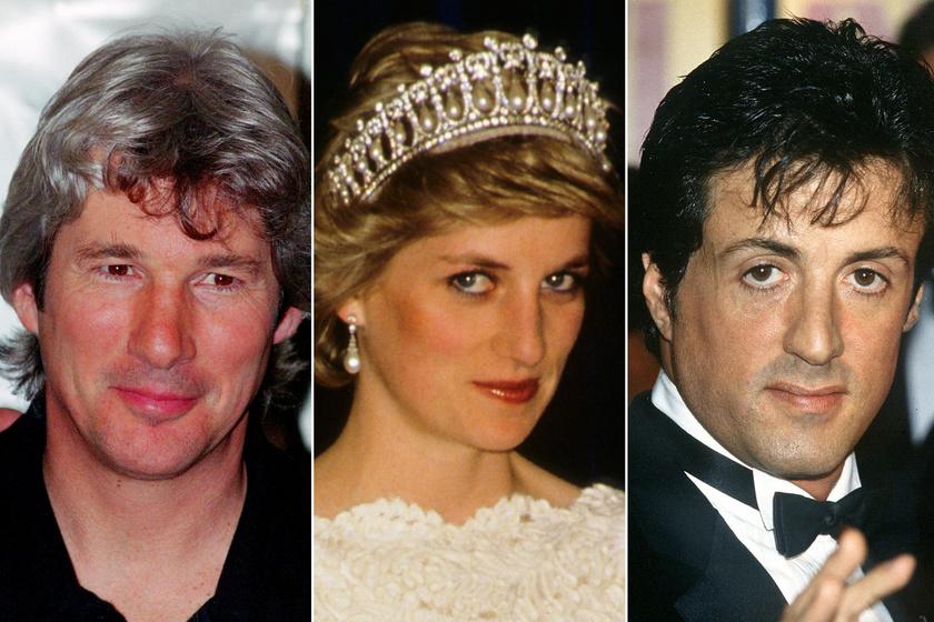 Diana hercegnő miatt verekedtek össze - Richard Gere és Stallone nagy balhét csapott