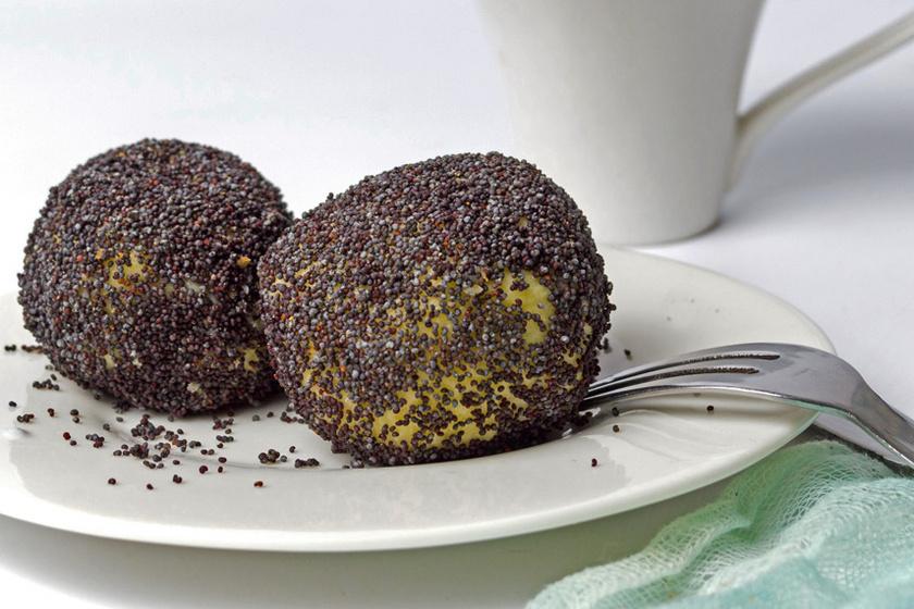mákos-kölesgombóc recept