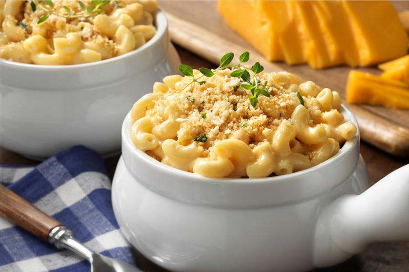 Az amerikaiak sajtos tésztája villámgyorsan elkészül és a besameltől krémes