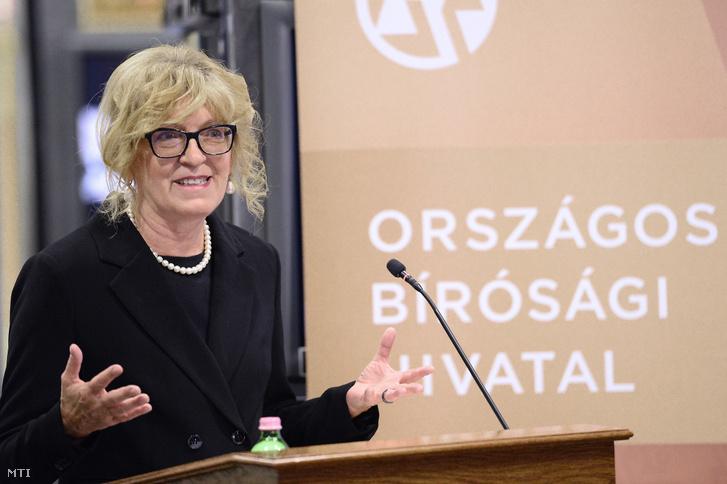 Handó Tünde az Országos Bírósági Hivatal (OBH) elnöke
