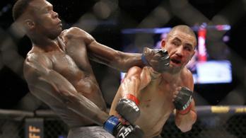 Eszement bevonuló után eszement KO-val lett UFC-bajnok