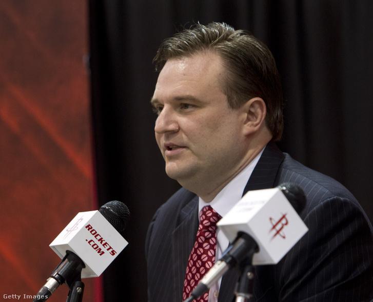 Daryl Morey, a Houston Rockets általános igazgatója