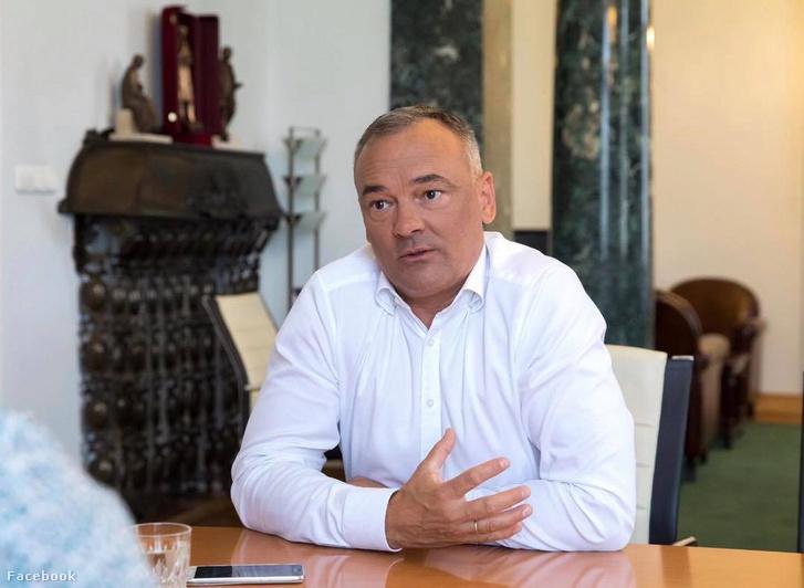 Zsolt Borkai, the mayor of Győr