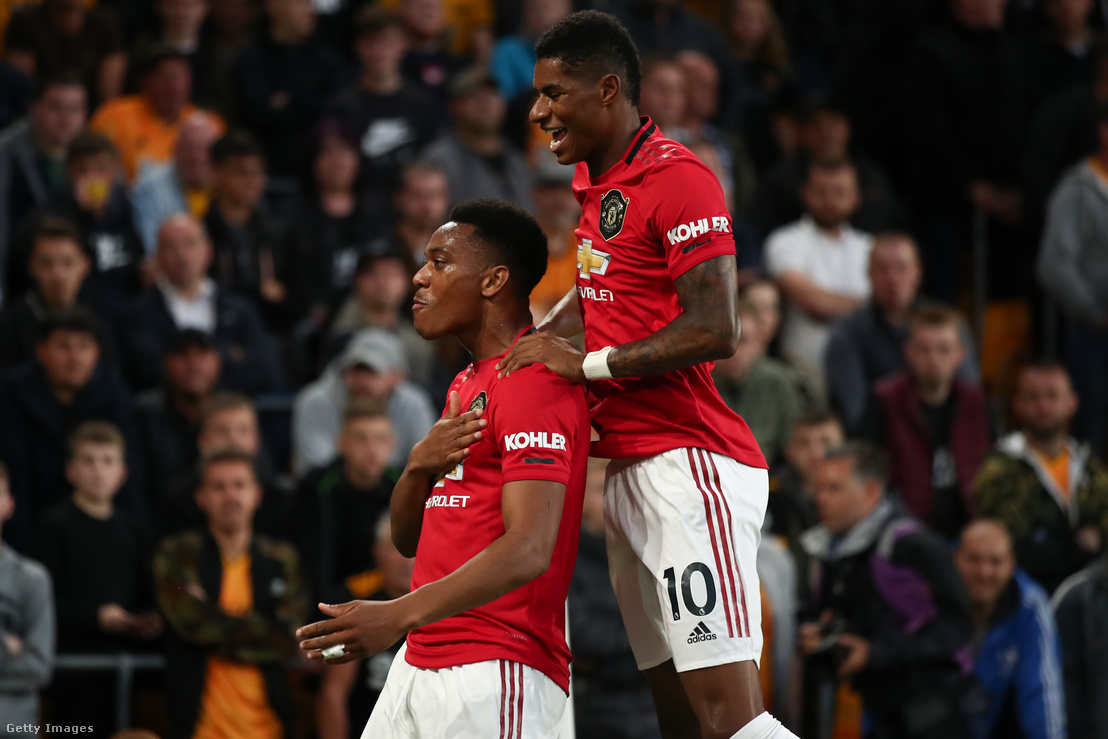 Anthony Martial és Marcus Rashford
