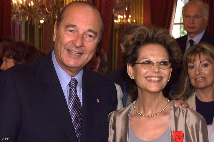 Jacques Chirac és Claudia Cardinale