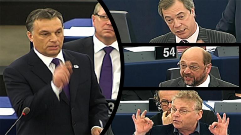 Így védte meg Orbán a haza becsületét