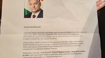 Levélben győzködi az országot Orbán