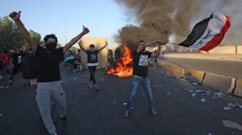 100 halott és 6000 sérült után elítélte az iraki elnök a tüntetők és sajtó elleni erőszakot