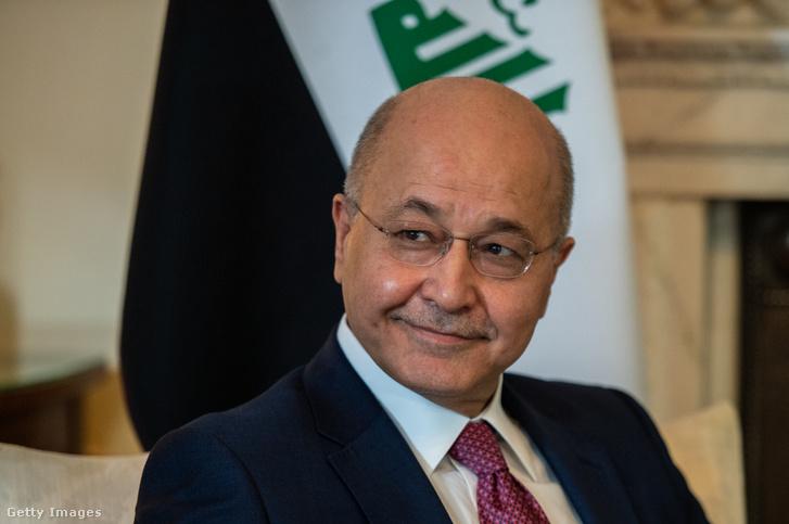 Barhám Száleh iraki elnök
