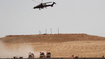 Török légitámadás indult a szíriai kurd erők főhadiszállása ellen
