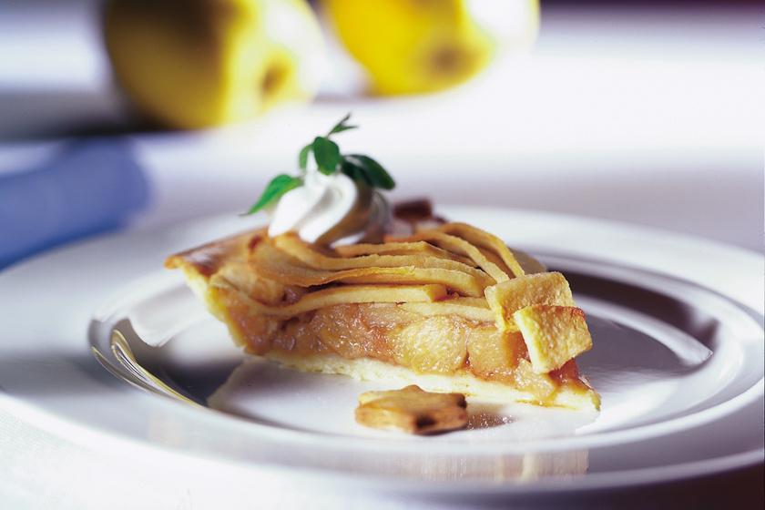 Omlós birsalmás pite: egyszerre édes és savanykás