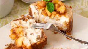 Bűn az élet: az abbahagyhatatlan almás sajttorta