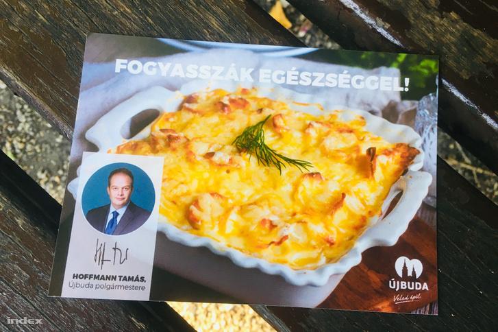 Krumplihoz szórólap is jártrakott krumplis recepttel