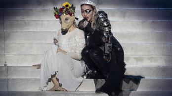 Madonna megsérült, el kellett halasztania egy koncertjét