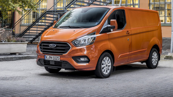 Bemutató: Ford Transit Custom plug-in hibrid - 2019.