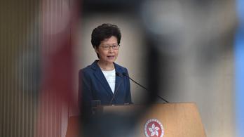 A hongkongi kormányzó a kínai hadsereget is behívná a tüntetők ellen