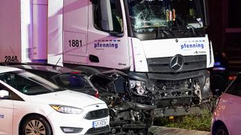 Terrorcselekmény lehetett a limburgi teherautós ütközés