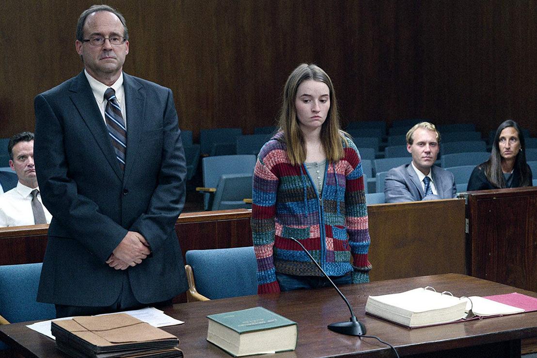 Marie a bíróság előtt - a Netflix Unbelievable című sorozatának jelenetében