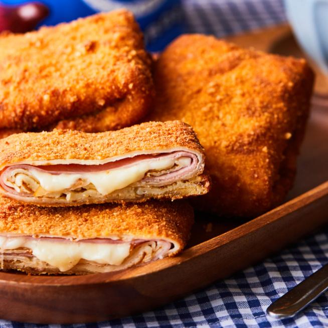 Palacsinta Cordon Bleu, avagy a sajt és a sonka harmóniája palacsintába tekerve