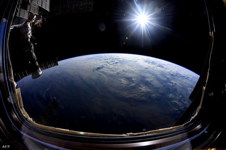 Kilátás a Nemzetközi Űrállomásról