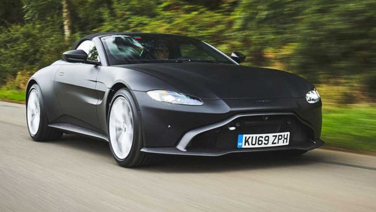 Először mutatták meg a legújabb Aston Martint