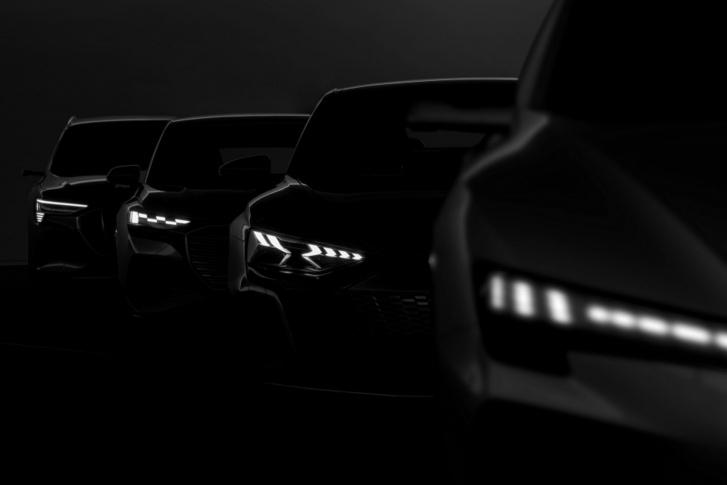 Négy elektromos Audi, négyféle alapon